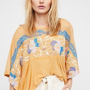 Free People | Love Letter Embroidered Top